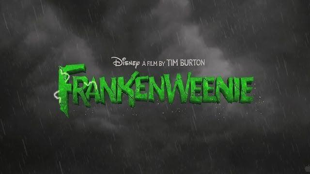 Frankenweenie 2012 Film Font Movie Titles Title Card