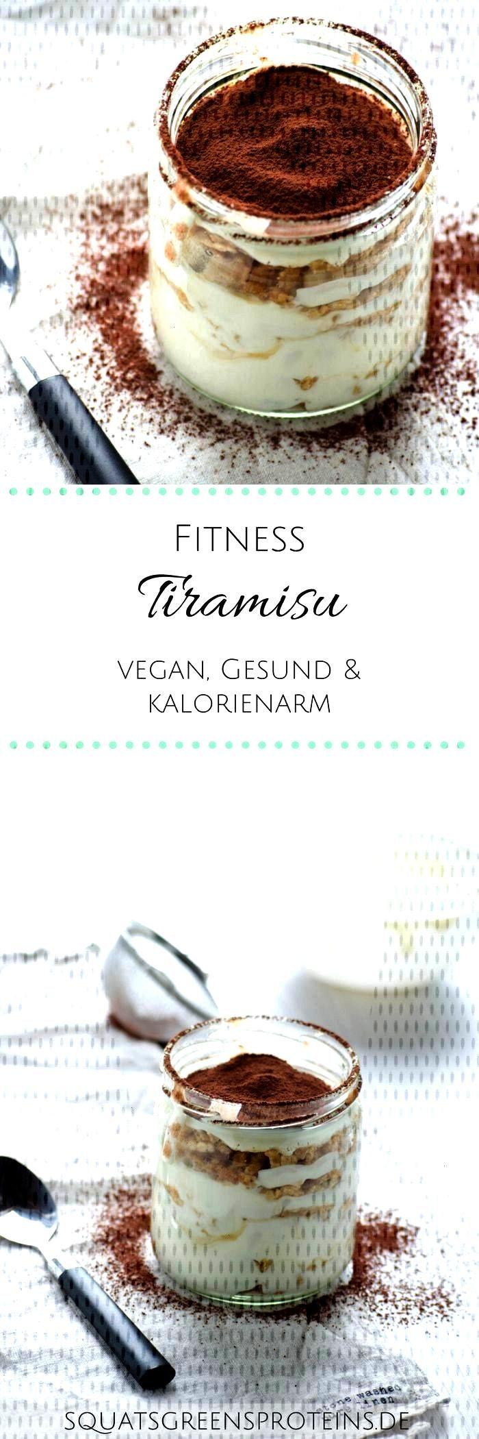 Vegane Fitness Tiramisu - Squats, Greens amp Proteins von Melanie  - Clean Eating Rezepte -Rezept V