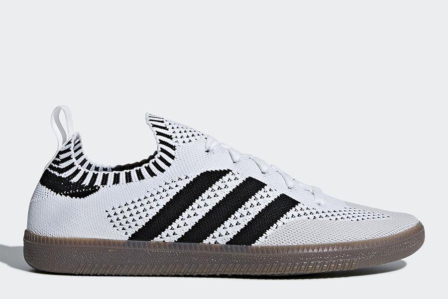 Céntrico Sábana Camino  football #soccer #futbol #fussbal Adidas Samba Sock Primeknit Shoes - Ftwr  White / Core Black / Bluebird | Adidas samba, Sneakers fashion, Adidas