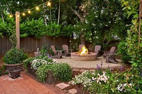 Outdoor Oasis: Fairy-Tale Backyard Designed for Entertaining