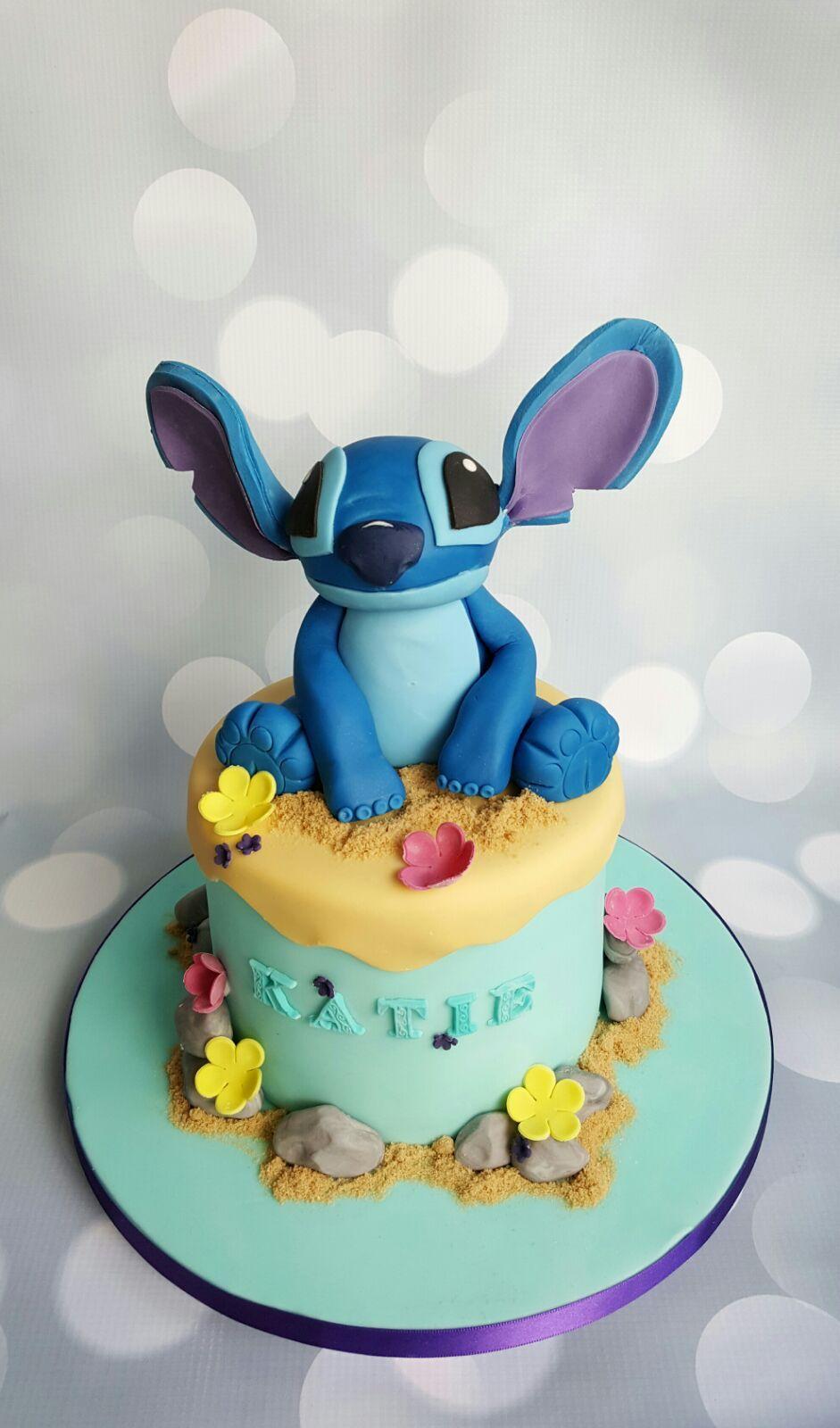 Pro/Chef] Stitch (Lilo and Stitch) birthday cake! | Motivtorten ...