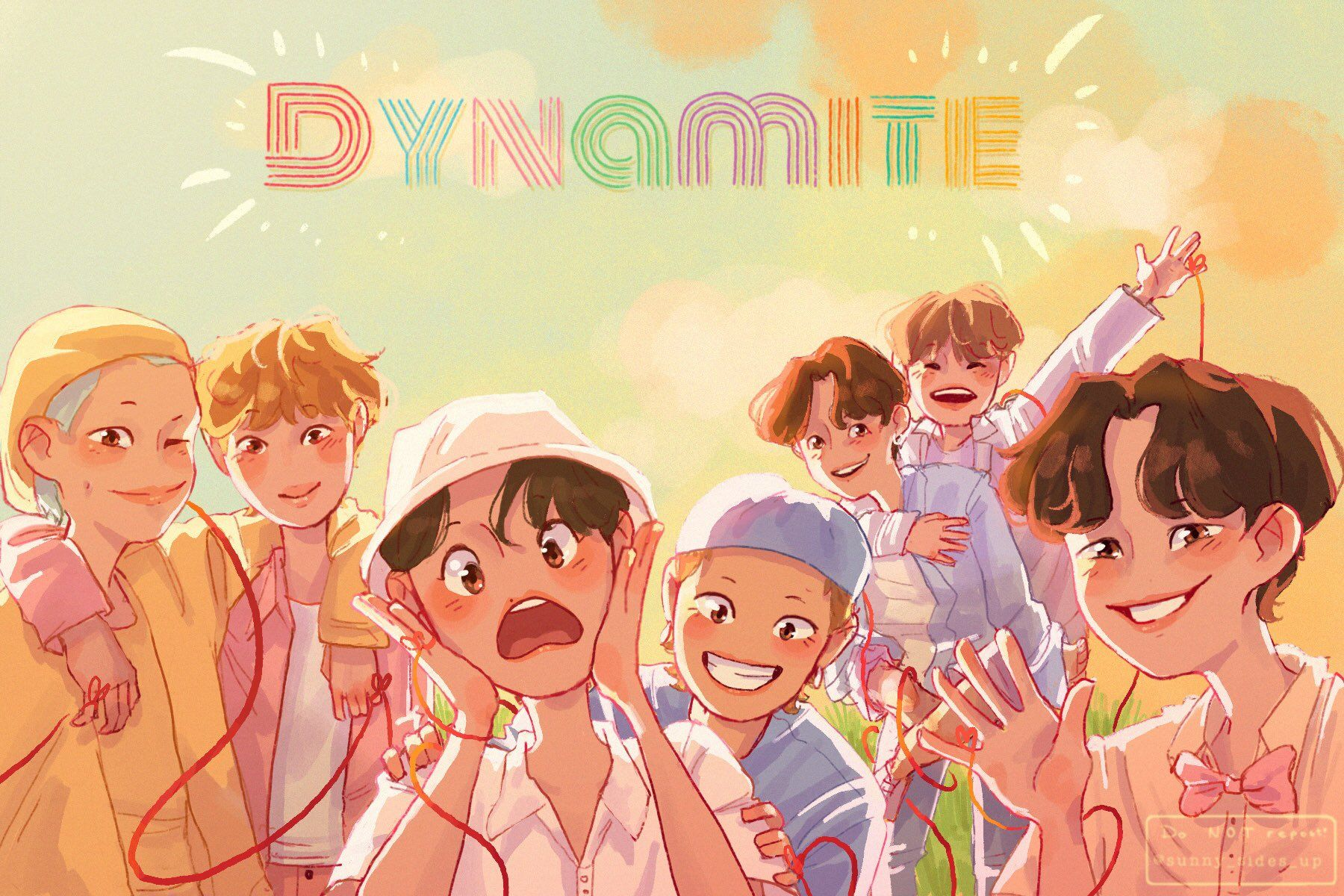 Anpanman Digitalpainting Btsfanart Anpanman Kpop Bts Bts Fanart Bts Drawings Bts Wallpaper