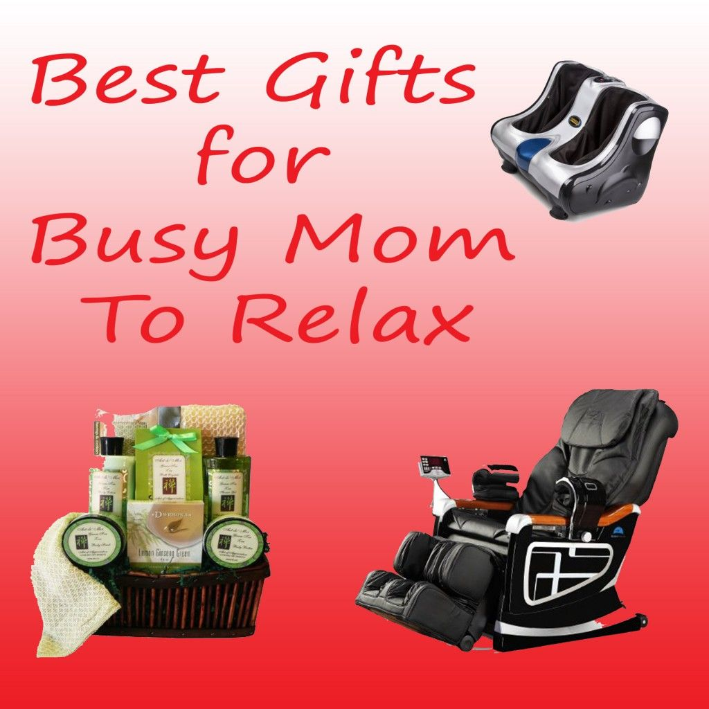 Amazing gift ideas busy moms could use to relax busy mom