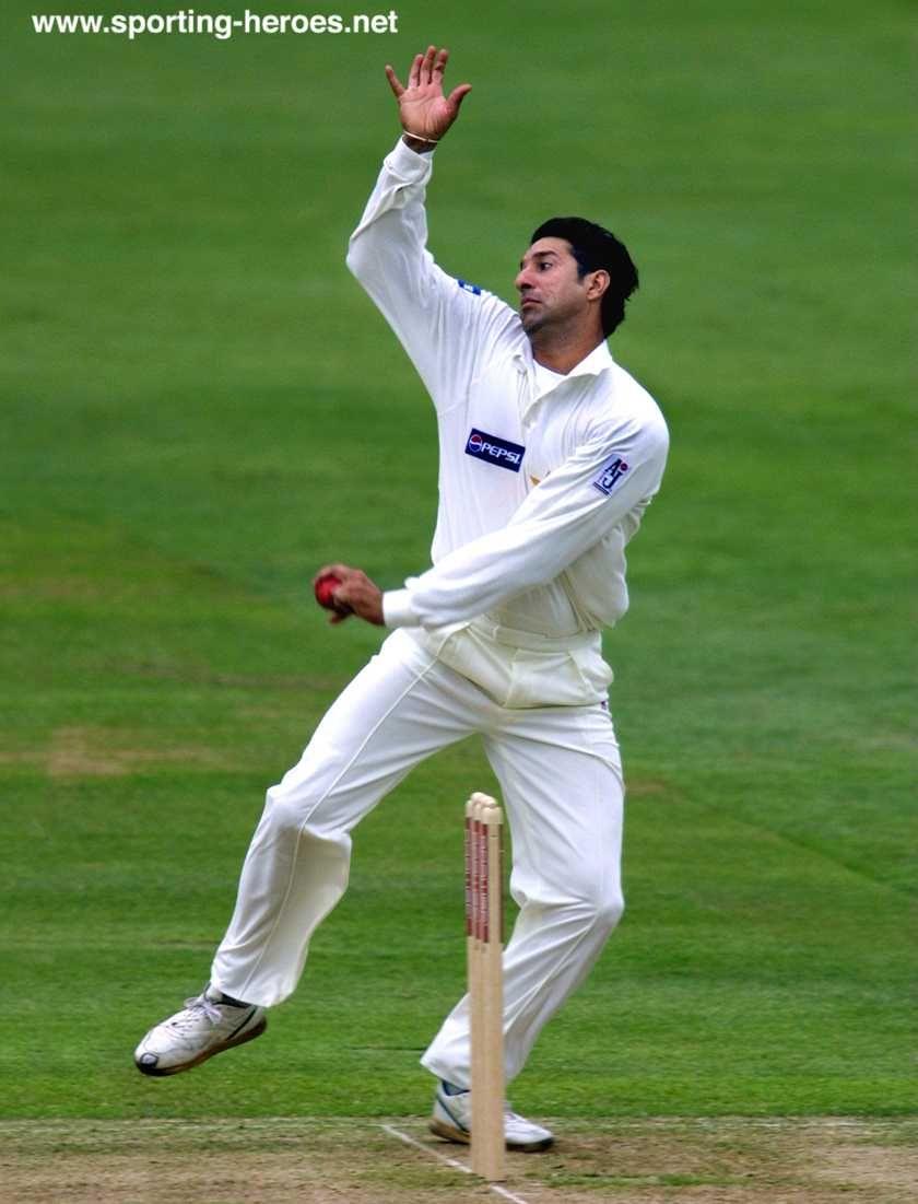 Wasim Akram Pakistan 414 Wickets Cricket Sport Pakistan Cricket Team Cricket Match