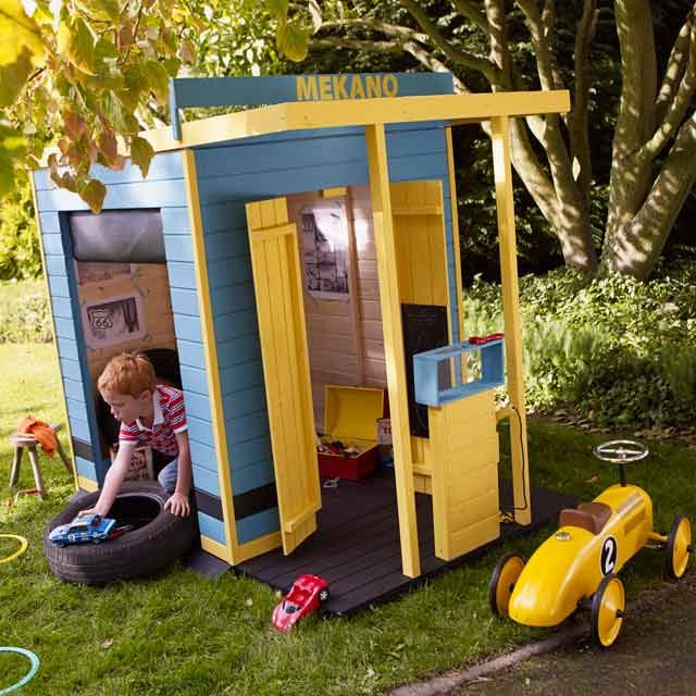 maisonnette en bois m cano maisonnette cabane enfants pinterest kid garden and outdoor. Black Bedroom Furniture Sets. Home Design Ideas