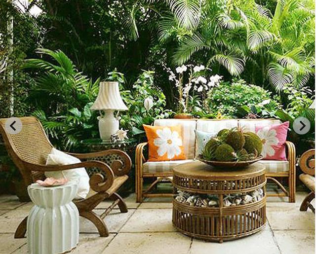 Perfect Bazaar Of Serendipity: Palm Beach Decorating