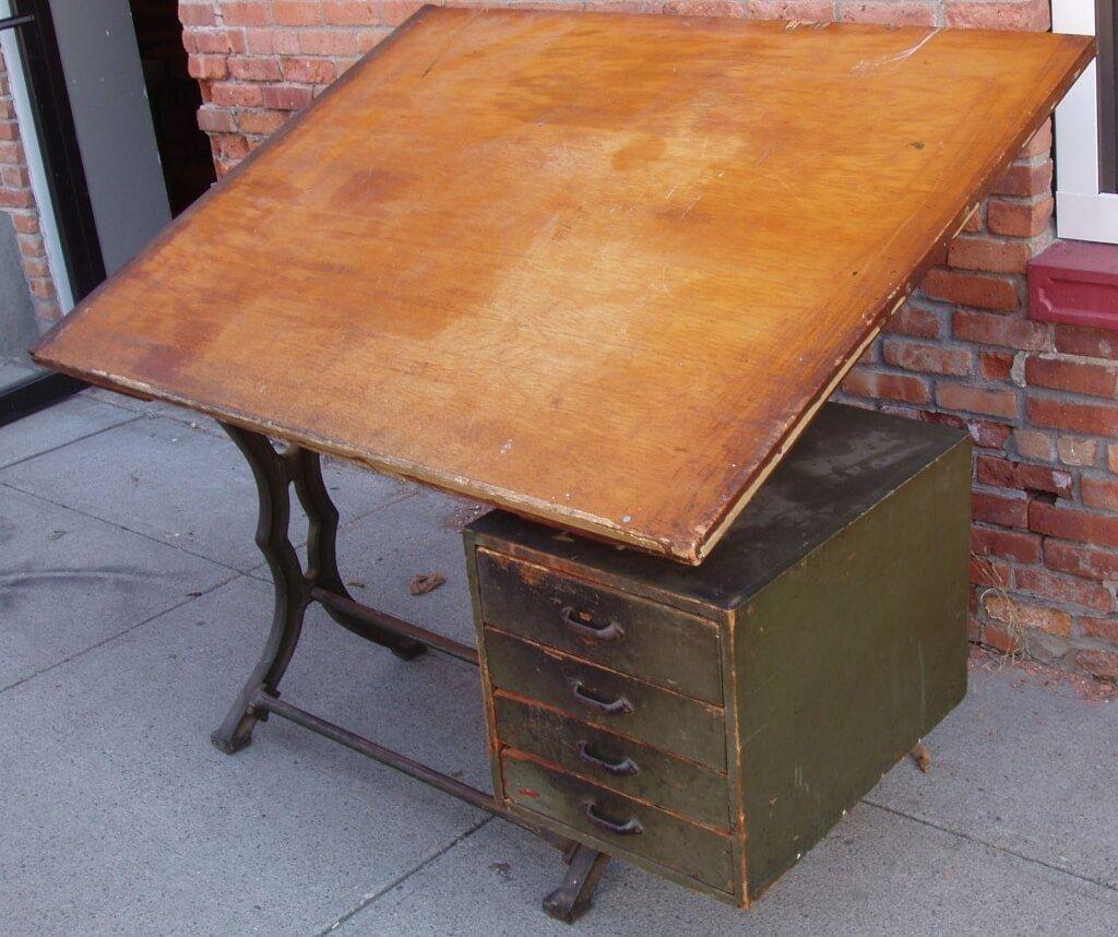 Antique Drafting Table Los Angeles U2014 Fresh Home Concept : Antique Drafting  Table Ideas