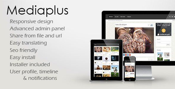 Download  Mediaplus  Media Sharing PHP Script