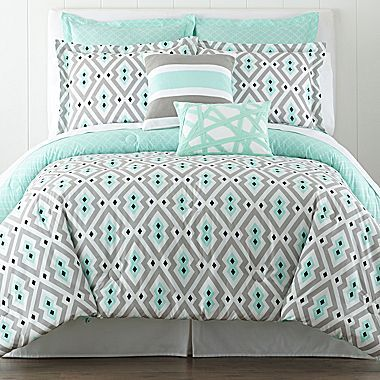 Jcp Happy Chic By Jonathan Adler Nina 3 Pc Comforter