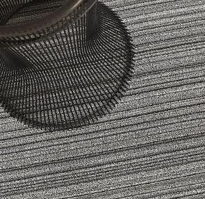 Chilewich Indoor Outdoor Shag Skinny Stripe Birch 24 Quot X 36