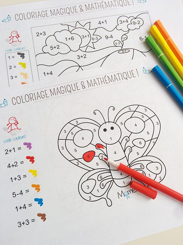 Coloriage Magique Cp Vacances.Coloriages Magiques A Imprimer Coloriages Do It