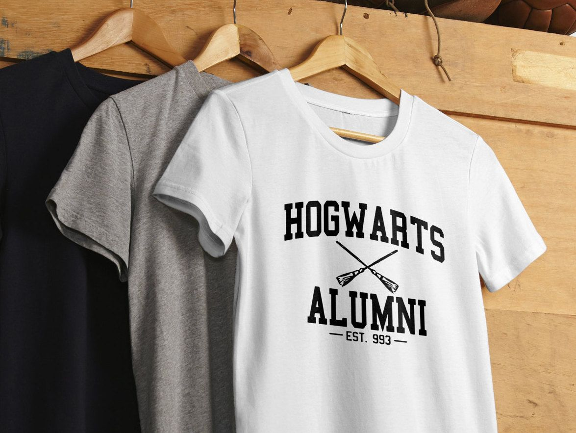 Hogwarts alumni shirt harry potter unisex tshirt tshirt by