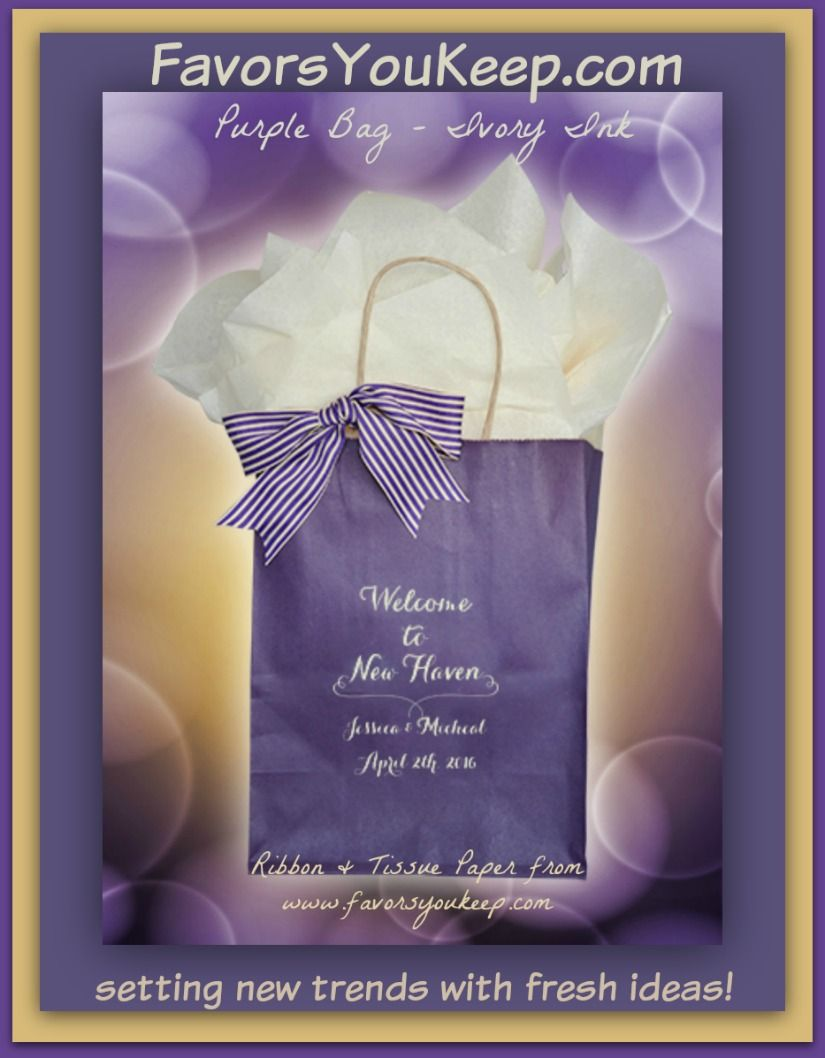 Welcome Bags Wedding Guest Hotel Welcome Bag For Out Of Town