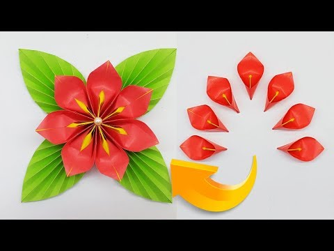 Photo of Amazing DIY Crafts | How to Make Paper Flowers Easy Steps