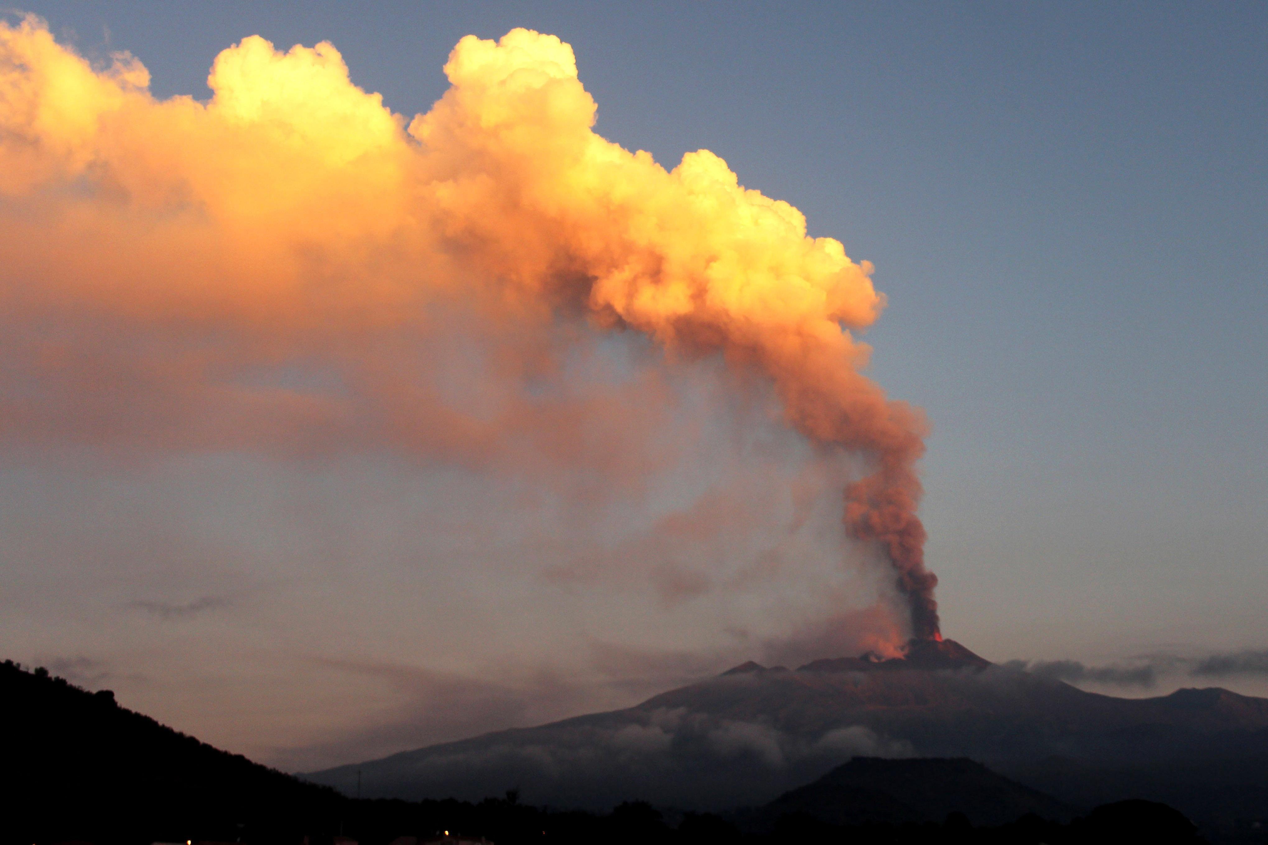mount etna | mount etna erupts source reuters italy s mount etna volcano