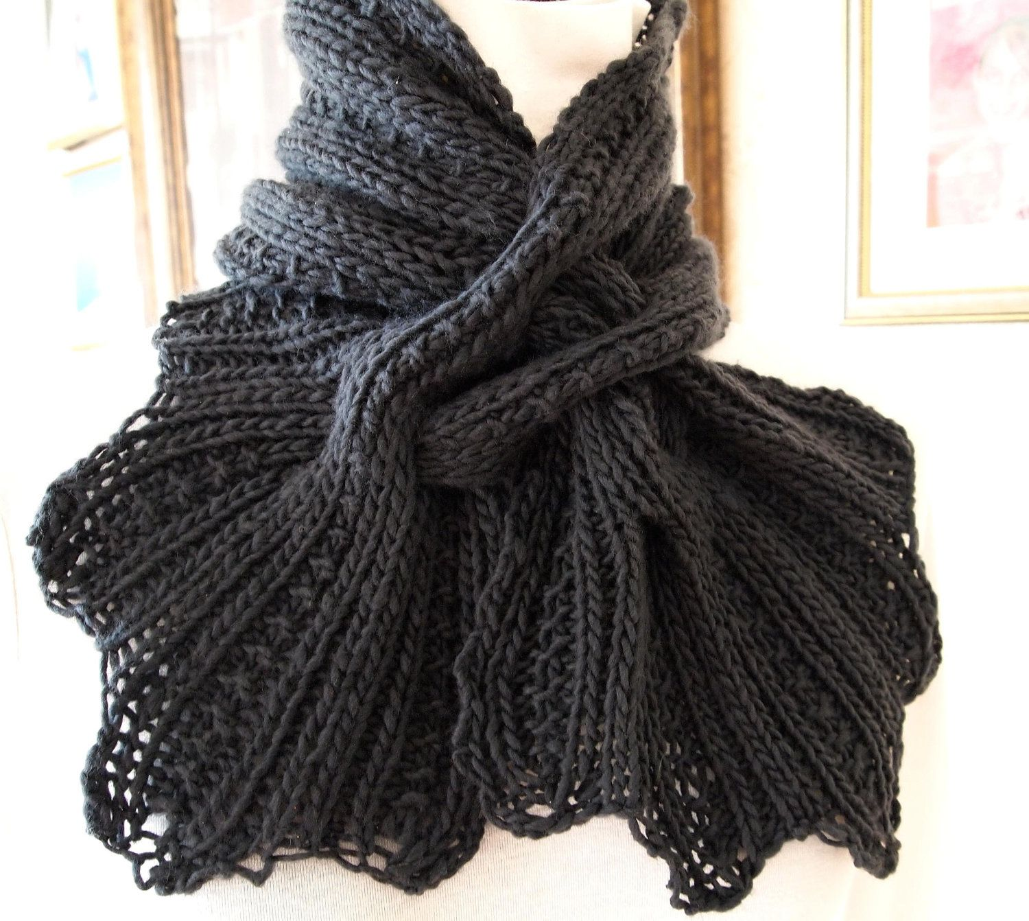 knitted patterns | Heartwarming Knit Scarf Knitting ...