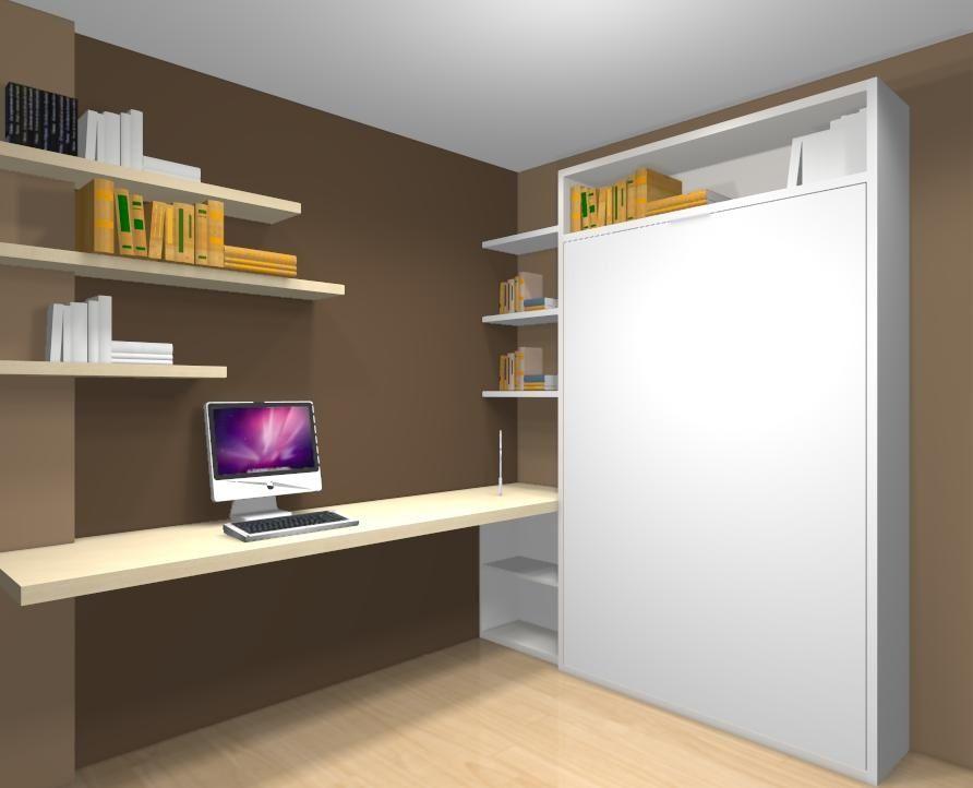 Resultado de imagen para escritorios para cuarto peque o for Diseno escritorios modernos