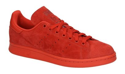 adidas stan smith zwart rood