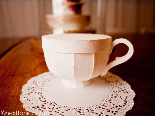 006 Excellent tutorials and templates Paper Tea Cups 1 next