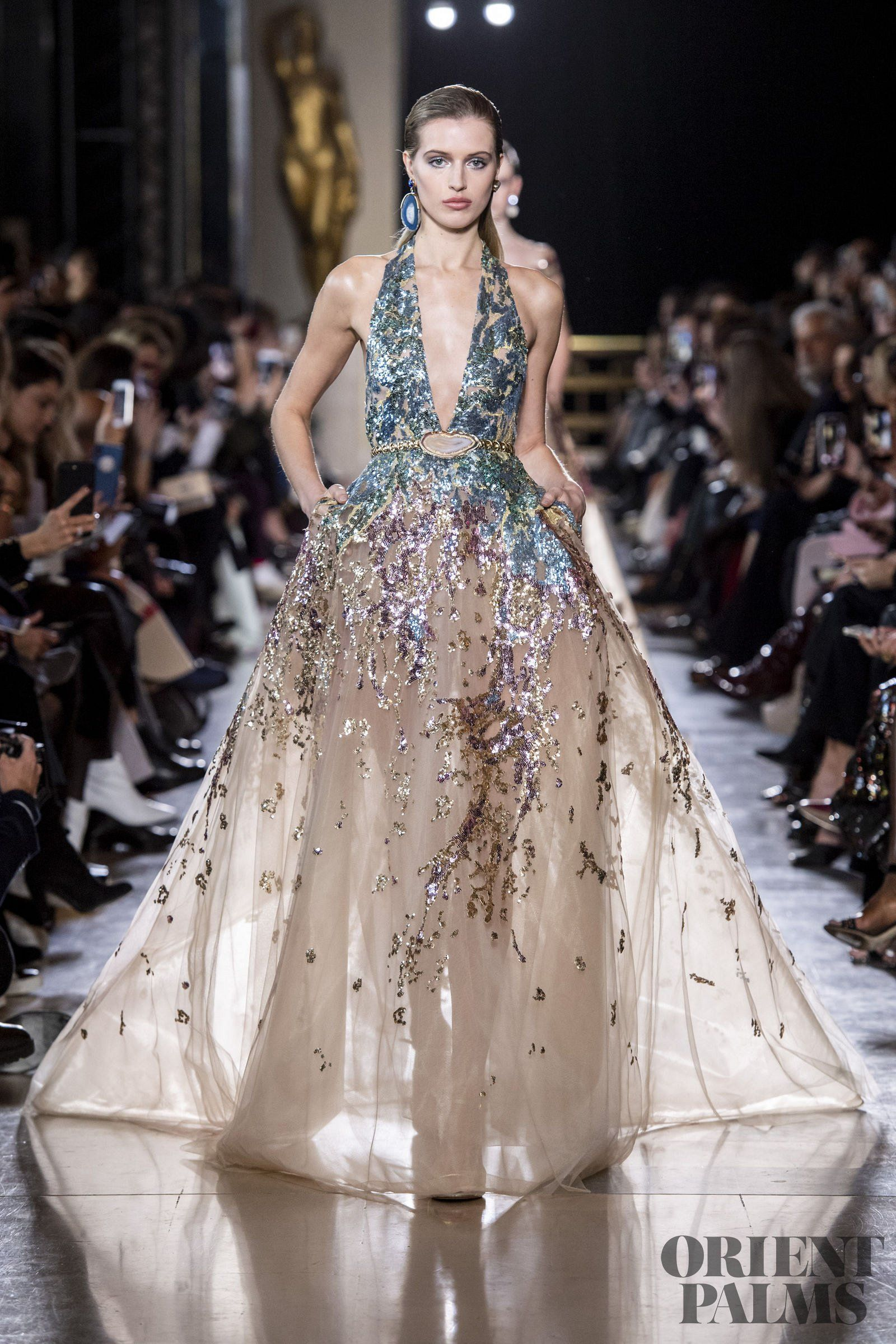 Elie Saab Frühjahr/Sommer 17 - Couture  Gowns dresses, Tulle