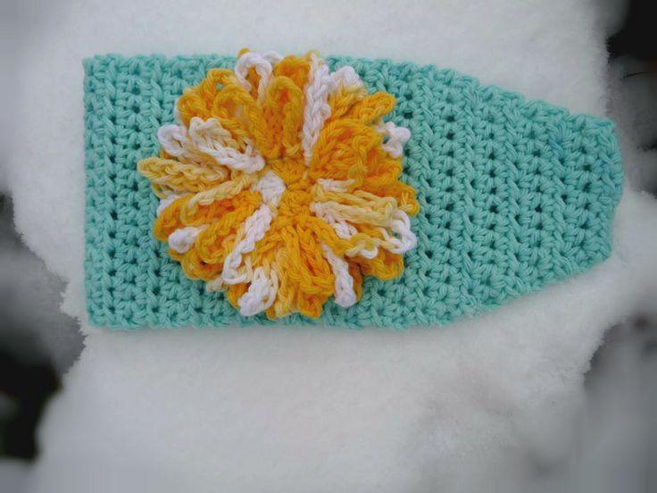 Domestic Bliss Squared: Head Wrap Crochet Pattern (Free!) | Greens ...