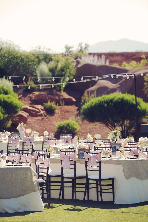 desert reception //  gideon photography