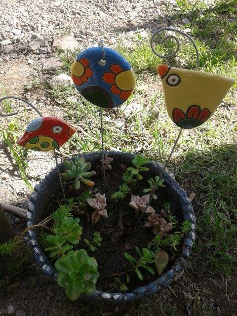 Tutores Para Plantas Ceramica Fabrica De Emociones