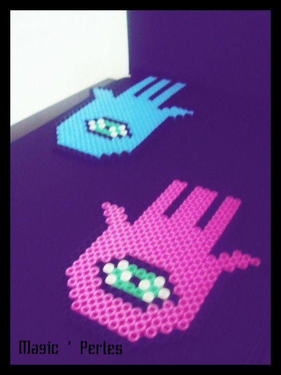 main de fatma d coration murale mes cr ations magic 39 perles pinterest main de fatma. Black Bedroom Furniture Sets. Home Design Ideas