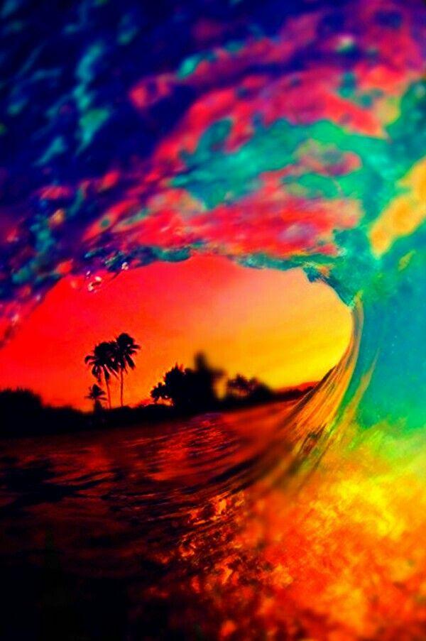 A peaceful ocean