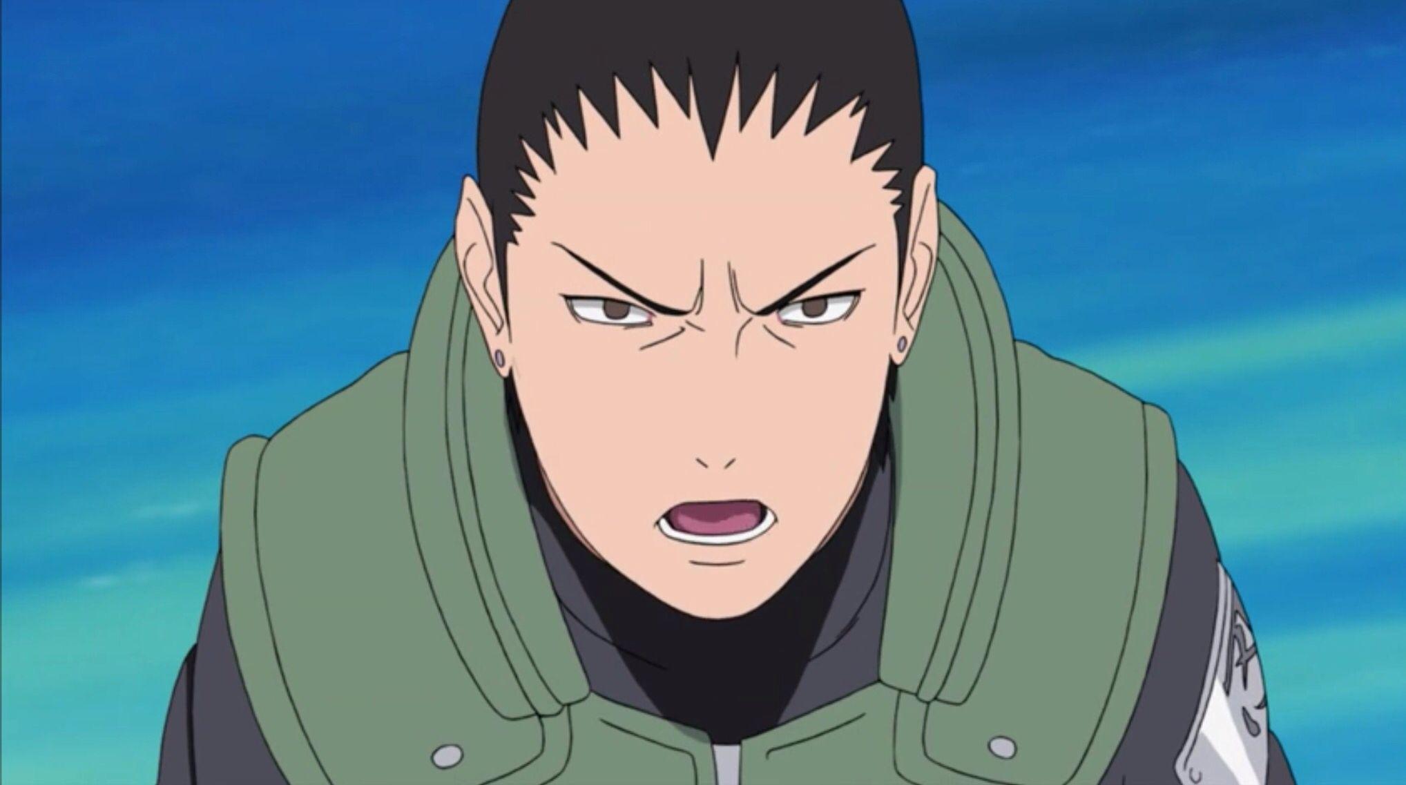 Shikamaru Nara 4th Great Ninja War Arc | Anime naruto ...