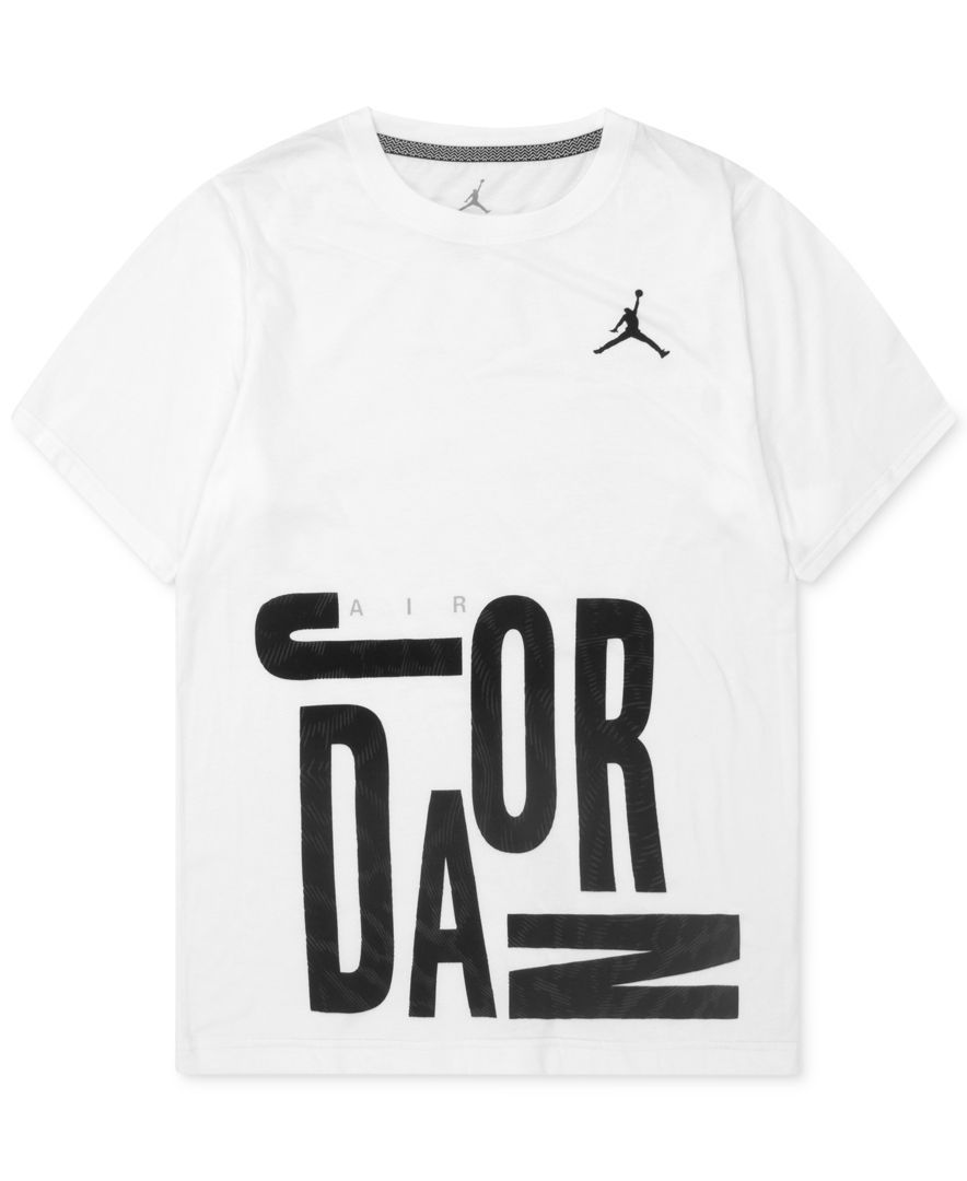 Jordan Air Jordan T-Shirt, Big Boys (8-20) - Kids & Baby - Macy's