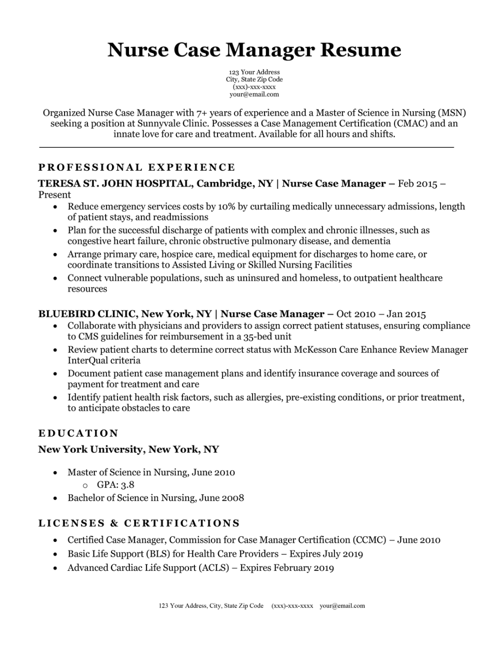 Lpn To Rn Resume Templates 1 Templates Example