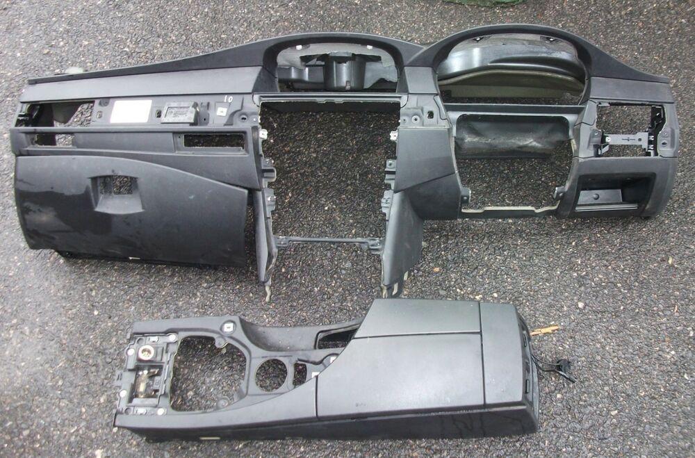 Bmw 5 Series Pre Lci E60 E61 Black Dashboard Dash Panel Console