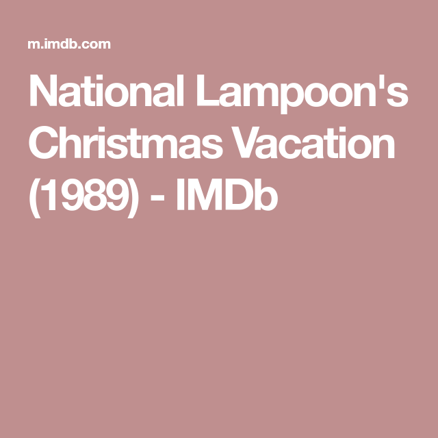 """Quotes from """"National Lampoon's Christmas Vacation ..."""