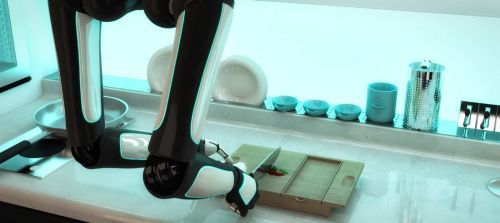 The World's First Robotic Kitchen | Futuristic Kitchen, Moley Robotics