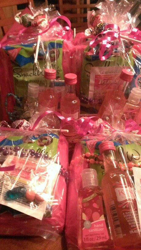 Bachelorette Party Welcome Goodie Bags Girls Night Out Party