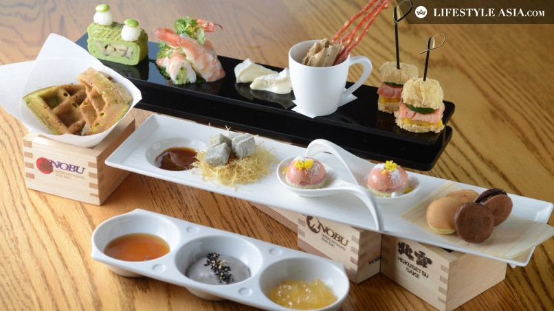 afternoon tea hong kong. Japanese Afternoon T-Set at NOBU, HK.