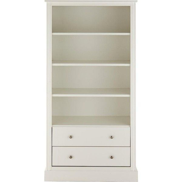 Consort Dover Large Ready Assembled Bookcase 260 Liked On