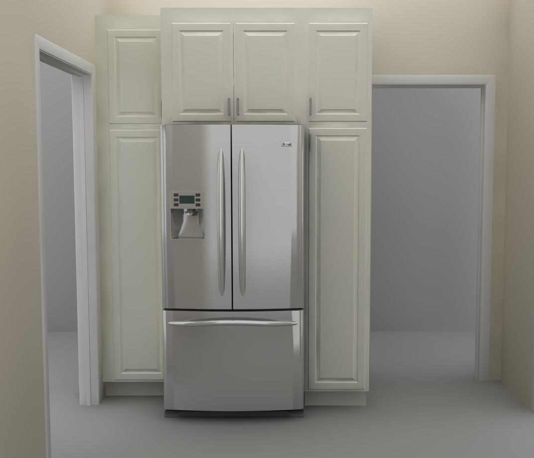 Best Kitchen Wall Pantry There Are Two Tall Pantry Cabinets 400 x 300