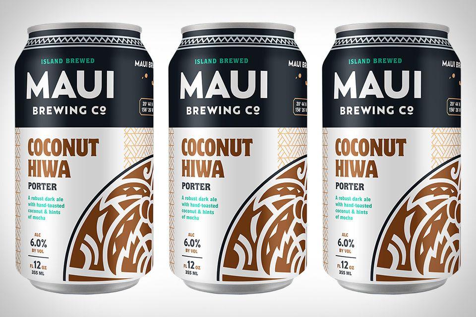 Maui Brewing Coconut Hiwa Porter   Uncrate