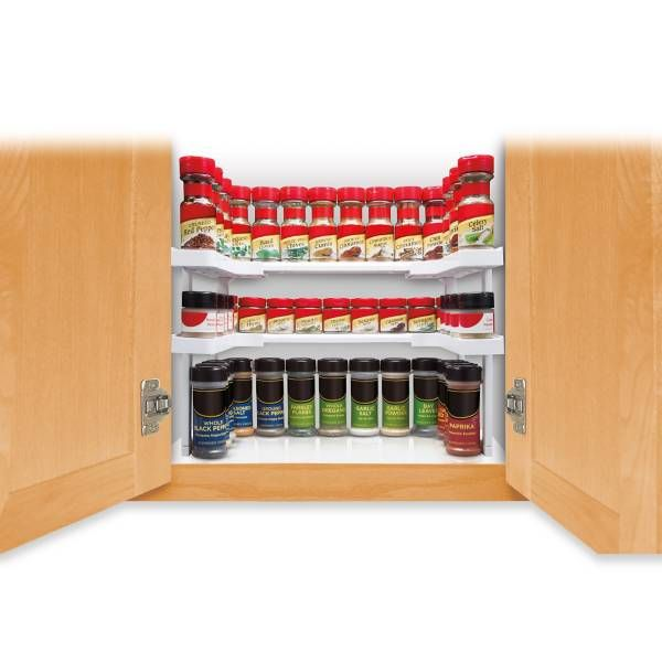Edenware Spice Rack And Stackable Shelf Delectable Product Image For Spicy Shelf™ Stackable Organizer 2 Out Of 5 Review