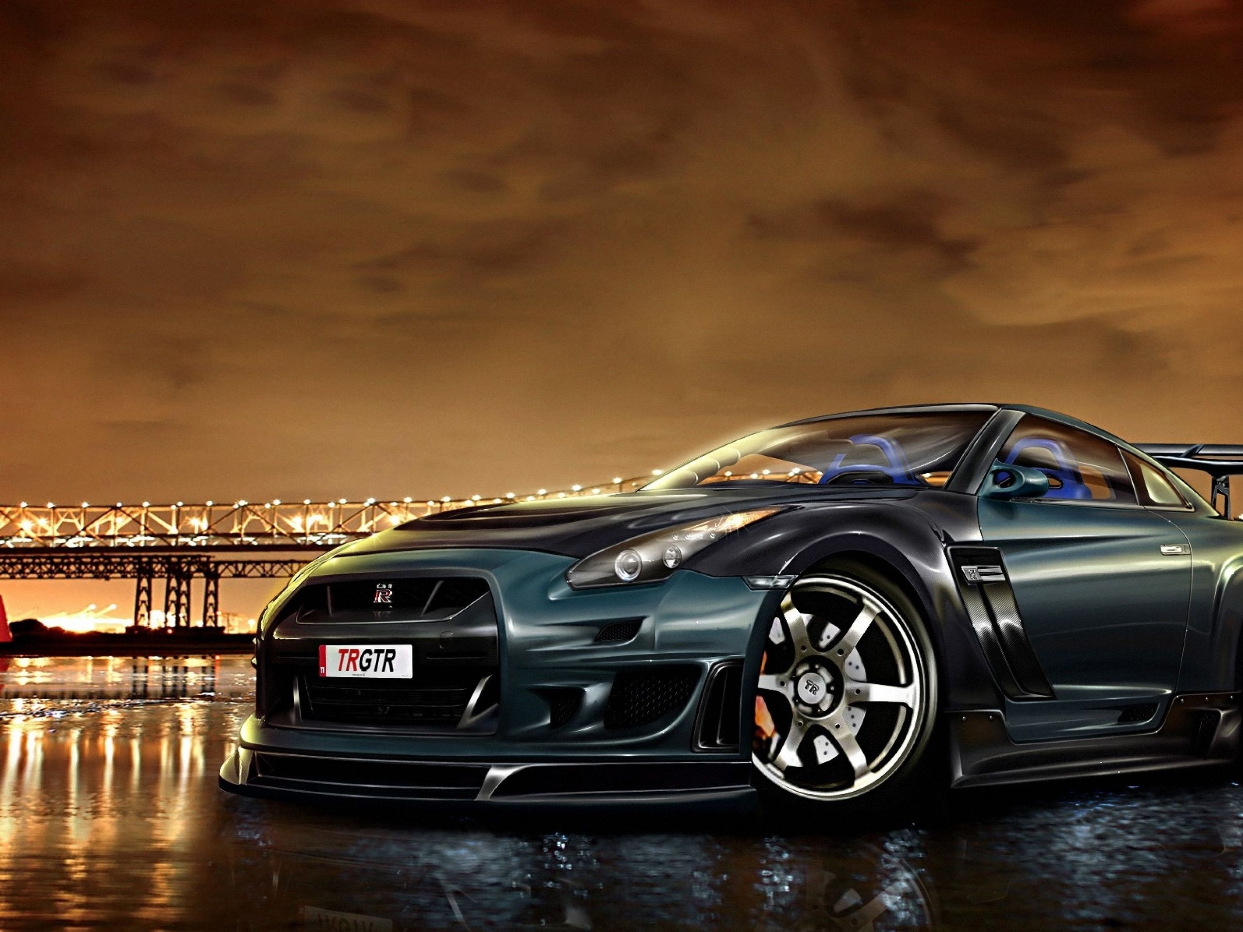 Awesome Nissan GTR Sport Car Hd Wallpaper #nissangtr #cars #freewallpapers  Www.yours
