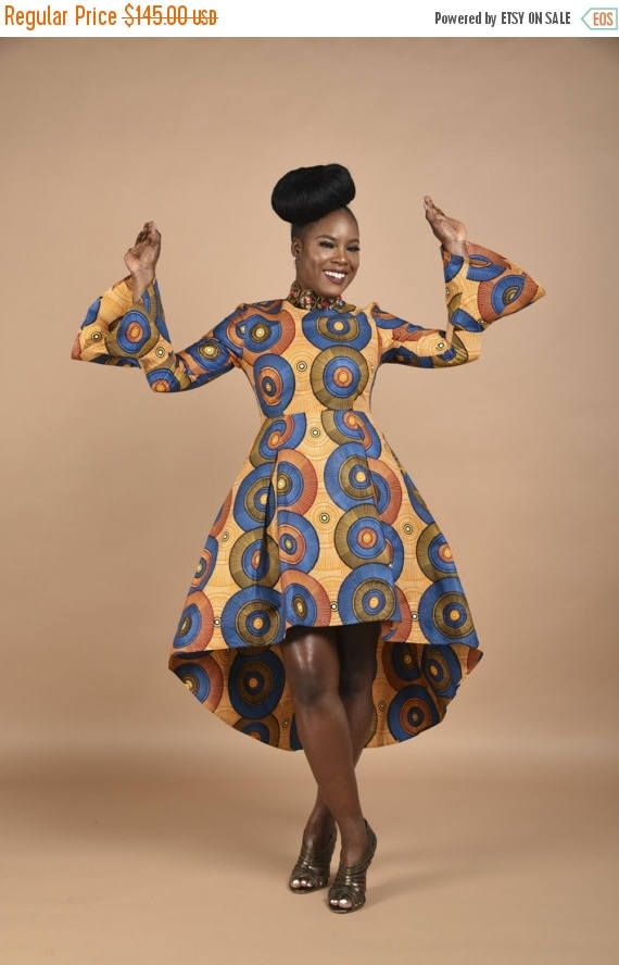 5 Places To Shop For Plus Size African Print Designs High Low