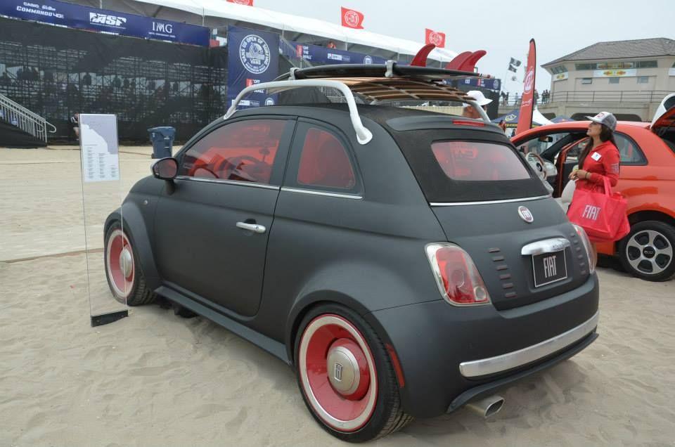 Fiat 500 Beach Cruiser Heavy Metal Pinterest