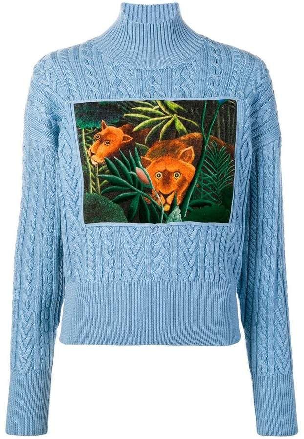 8dfa1145e Kenzo jungle turtle neck sweater | sweatshirts | Sweaters, Sweater ...