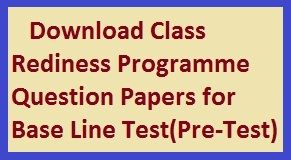 Baseline question papers 2017 Maharashtra class 2nd to 8th