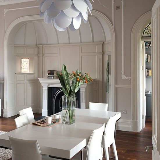 Step inside a light filled victorian villa in north london modern pendant