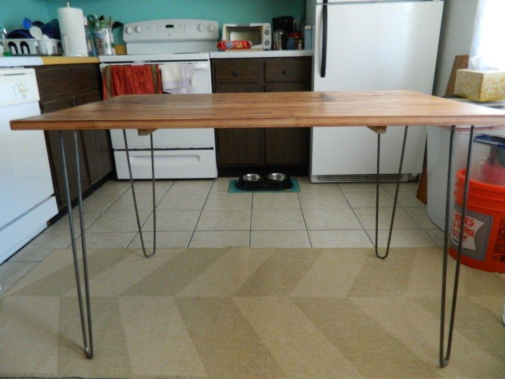 Ikea Dining Table Hack Hairpin Ikea Dining Table Hack Ikea