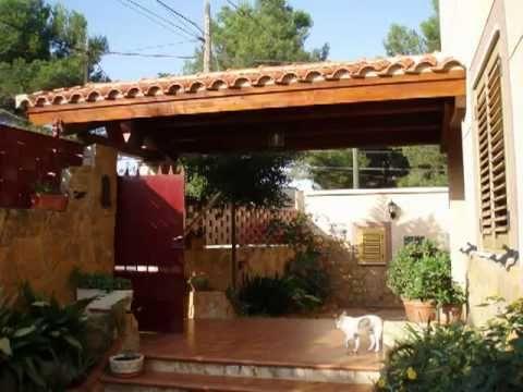 Un porche de madera antes y despu s decoraci n para el - Hacer un porche economico ...