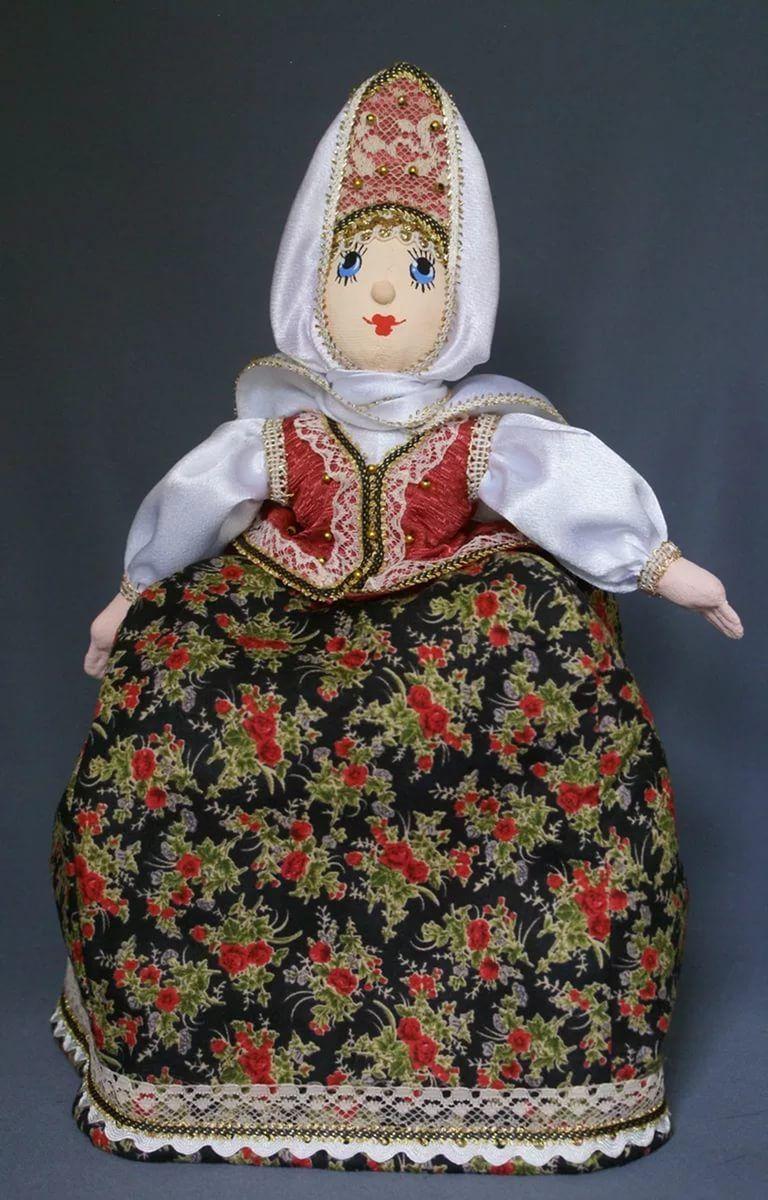 Кукла для чайника своими руками фото 391